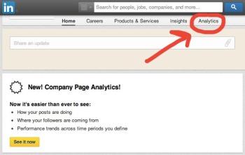 Pagine Aziendali Linkedin: accedere ai nuovi analytics | Flow il blog di Liquid, Alessandro Santambrogio
